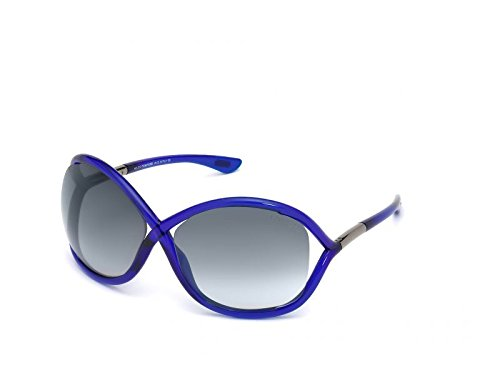 Tom Ford Sonnenbrille Whitney (64 mm) dunkelblau/grau