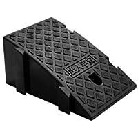 GBYYMX Rampa del Borde del Camino De Alta Resistencia rampas umbral portátiles for rampas de Silla de Ruedas, rampas for Alta 19cm Rampas y entradas (Color : Black, Size : 2pcs)