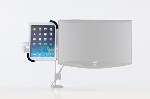 """Allcam IPS200 Universal iPad / Adroid Tablet Mount Adapter for VESA 75 Mounting Plate mounting tablets from 8"""" up to 12"""" like: iPad 1/2/3/4/Air, Samsung Galaxy Tablets 8.9-10.4"""", Nexus, Huawei, Lenovo, Acer, Asus by Allcam"""