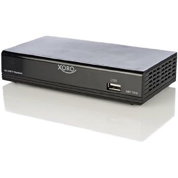 Xoro HRT 7515 DVB-T Receiver (PVR-Ready, HDTV, HDMI, Upscaler 1080p, SCART, USB 2.0) schwarz
