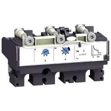 SCHNEIDER ELEC PBT - PAC 55 01 - UNIDAD CONTROL MAGNETOTERMICO TMD160 4P4D NSX250