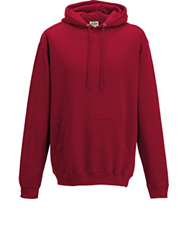 Just Hoods College - Felpa Red Hot Chilli