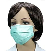 500 Stück Mundschutz (10x50 Stück) OP Maske 3-lagig mit ela. Schlaufe Farbe: grün Medi-Inn preisvergleich bei billige-tabletten.eu