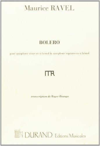Boléro - Saxophone/Piano