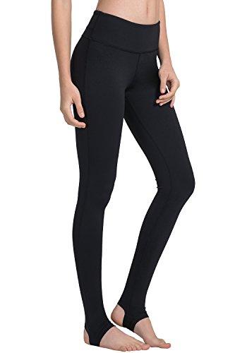 Matymats Women's Stirrup Pants Yoga High Waist Trousers for Yoga Ballet Running Dancing Pilate