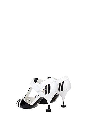 Bianco 1x703gbianconero Sandali Prada Donna Aveva ZE0xEwFIq