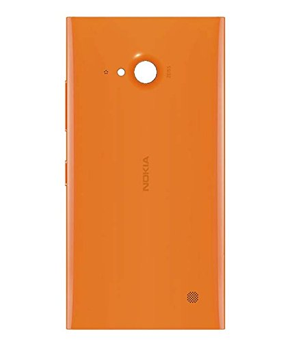 DiBOX Replacement Back Door Cover Panel For Nokia Lumia 730 (Orange)  available at amazon for Rs.149