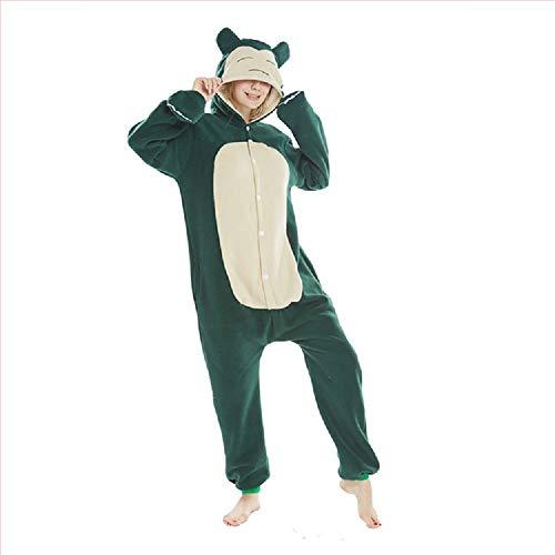 ZHANGZHIYUA Slim Fit Animal Pyjamas - Einteiliges Cosplay Kostüm für Erwachsene,S (Einteilig Für Erwachsene Pyjama)