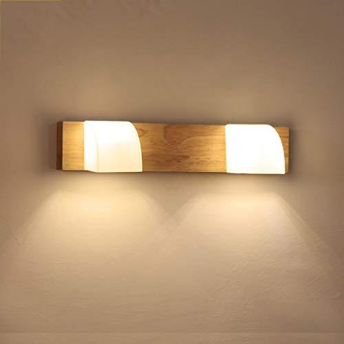 GWFVA Luz Espejo, lámparas Estilo japonés Lavado