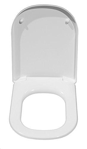 Keramag 574130000 WC-Sitz iCon, mit Deckel Scharniere: Metall, Absenkauto, weiß - 2