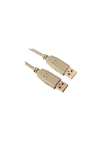 Perel 166642 USB 2.0 auf USB 2.0 A-Stecker