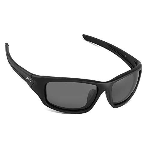 LATEC Occhiali da Sole Sportivi Polarizzate Occhiali Leggeri con Protezione UV400 e TR90 Unbreakable Frame, per Uomini Donne Esterni Sport Pesca Ski Driving Golf Corsa Ciclismo Campeggio