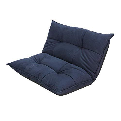 TUONALRSF Bequem Bodenstuhl Gaming Seat- Faule Sofa Stühle, Klappdoppelboden Schlafsofa Lehnstuhl for Wohnzimmer und Schlafzimmer und Balkon