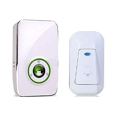 SWJ-doorbells SUNYAN, Alarmas De Advertencia, Timbre Inalámbrico Inicio Llamador Remoto Impermeable
