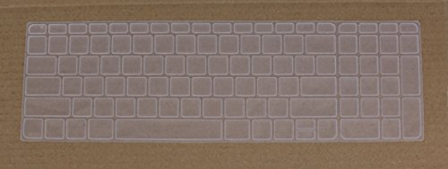 Saco Chiclet Keyboard Skin for HP ProBook 450 G2 Series (Transparent)  available at amazon for Rs.355