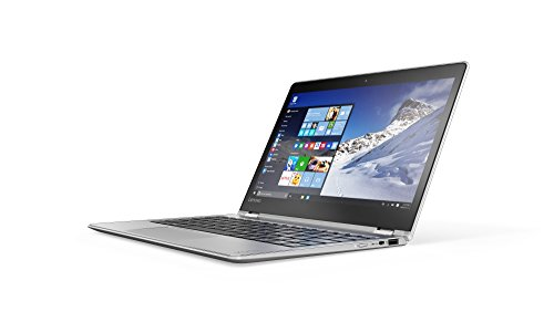 Lenovo YOGA 710 29,46cm (11,6 Zoll Full HD IPS) Slim Convertible Notebook (Intel Core m3-7Y30, 8GB RAM, 256GB SSD, Intel HD Grafik 615, Windows 10 Home) silber