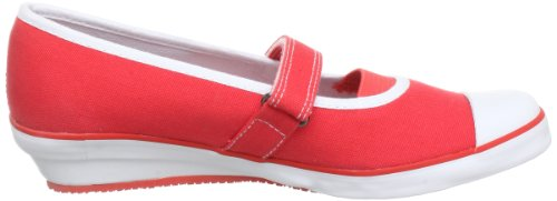 S.Oliver Casual 5-5-42206-20 Mädchen Ballerinas Rot (Red 500)