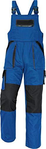 Stenso Stenso MAX - Herren Praktisch Latzhose Baumwolle Blau 46