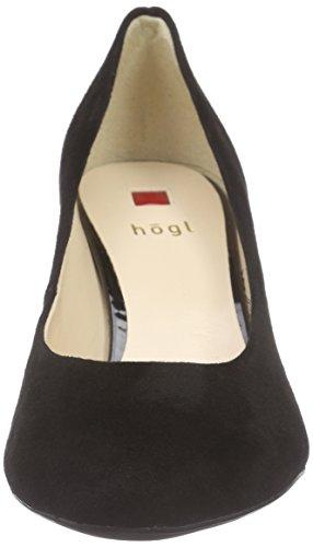 Högl1- 10 6002 - Scarpe con Tacco Donna Nero (Schwarz (0100))