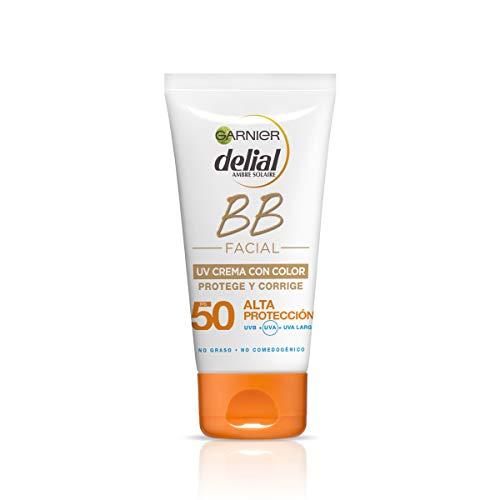 Garnier Delial BB Sun Crema Protector Solar Color