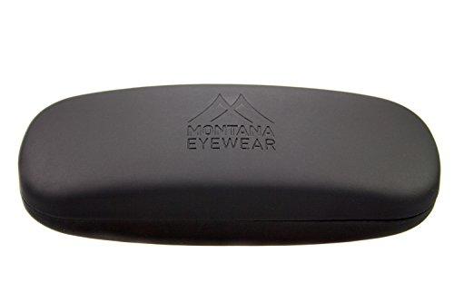 Montana Eyewear Brillenetui - Testsieger Etui mit Klappverschluss (Schwarz)