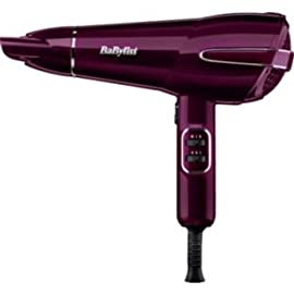 babyliss - 31 W5hCUeoL - BaByliss 2100W Elegance Hair Dryer 5560KU High Gloss Raspberry