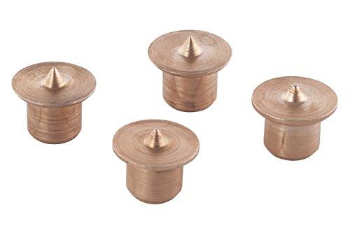 Wolfcraft Durchmesser Dübelsetzer (8 mm, Hartmetall, 4 Stück), WFC2912