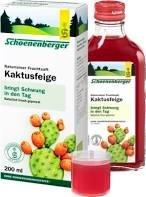 Kaktusfeige Saft (Naturreiner Kaktusfeige Saft 97% mit Bio-Zitronensaft, reich an Vitaminen und Mineralstoffen mit antioxidativer und verdauungsfördernder Wirkung, besonders für Sportler und gestresste Menschen, Spar-Set 5x200ml)