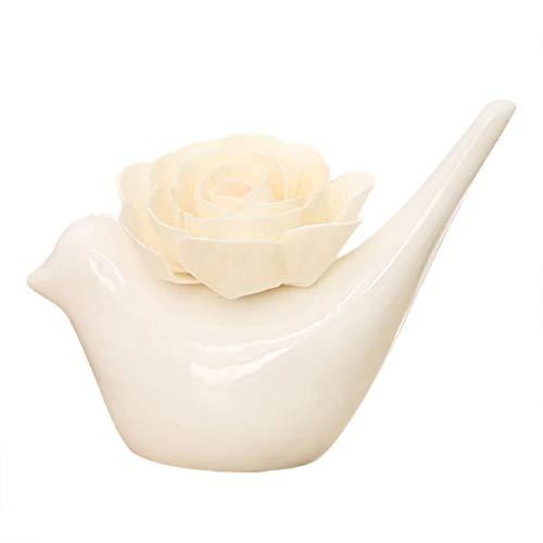 Vaycally Diffusori di Olio Essenziale per aromaterapia, diffusori di aromi da 50 ml, Durata 90-120 Giorni (Tipo di Aroma: tè Bianco Limone Giglio Oceano Rosa Gelsomino osmanto Gardenia) -vitalizza i