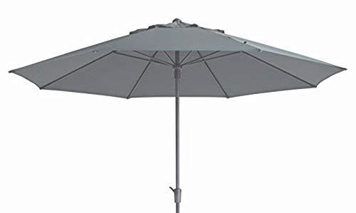 "Madison XXL Kurbelschirm Sumatra 400\"" in grau mit UV-Schutz 40 Plus"