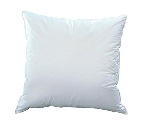 Häussling Drei-Kammer-Kissen Comfort - 80x80 cm - 100% Federn, 50% Daunen 50% Federn - 1.080 g - extra soft - Deutsches
