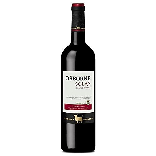 Osborne Solaz Tempranillo/Cabernet Sauvignon 2013/2014/2015 Trocken (6 x 750 l)