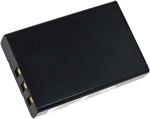 Batteria compatibile per toshiba camileo h-30, li-ion, 1800mah, 3,7v, 6,7wh, nero