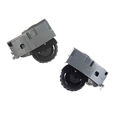 Preisvergleich Produktbild Rechtes und linkes Antriebsradpaar für iRobot Roomba 800 900 Serie Austauschbar 880 980 960 860 864