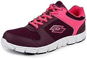 Lotto Women's Sancia Pink/Magenta Running Shoes - 4 UK/India (38 EU) (AR4727-555)
