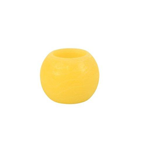 Vela Led De noche De bodas & fiestas, cumpleaños, Fête-Bola De Led De vela, 5 cm, color amarillo () 3 unidades