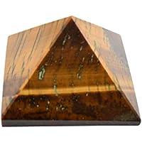Pyramide-Energie-Generator Tiger-Augen-Stein-Pyramide Orgon Meditation Entspannung Spirituelle Geschenk preisvergleich bei billige-tabletten.eu