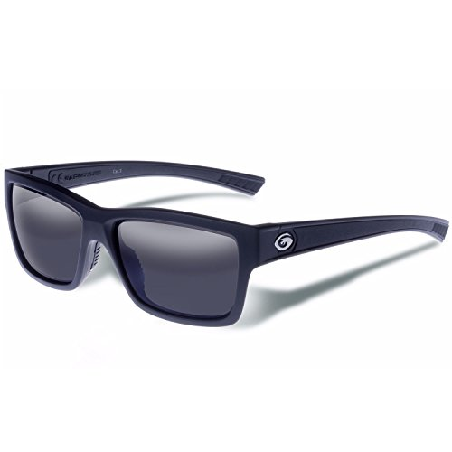 Gargoyles Heimatland Performance Sonnenbrille, matt black frame/smoke lens