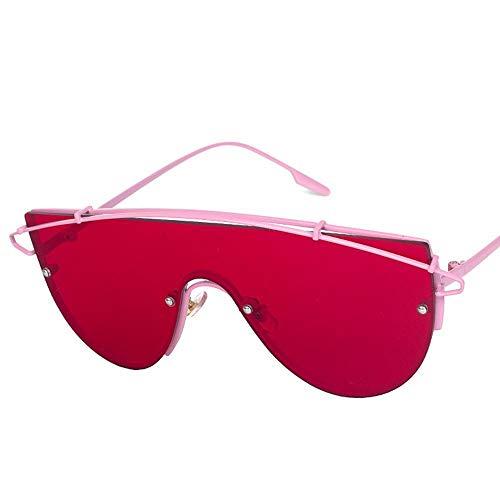 QJKai Sonnenbrille, farbenfrohe Sonnenbrille, Persönlichkeits-Sonnenbrille