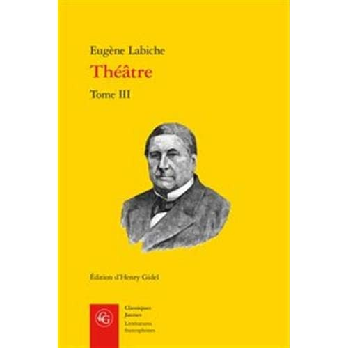 Théâtre : Tome III