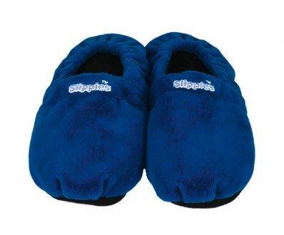 Slippies Classic dunkelblau (L) - 100% mikrowellenfähige Wärmepantoffeln, Hausschuhe