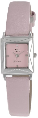 Q&Q Analog Pink Dial Women's Watch - S043-302Y image