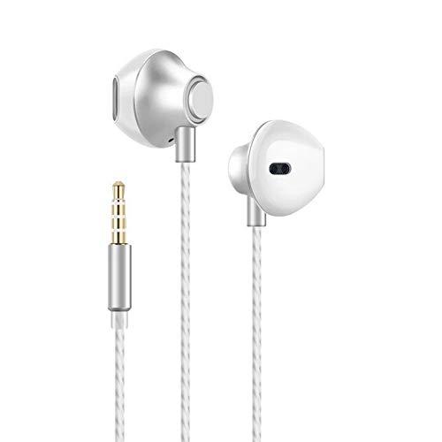 Paopi Auricolari Cuffie con Microfono Stereo per iPhone 6 6s Plus 5s, Huawei Smartphone Android