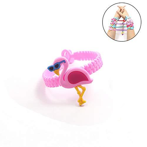 Ein Flaming Little Mermaid Silikon Armband Geburtstagsparty bietet Weihnachtsgeschenke Preis liefert Armband Armband Armbänder Kinder sortierte Paket (rosa Sonnenbrille)