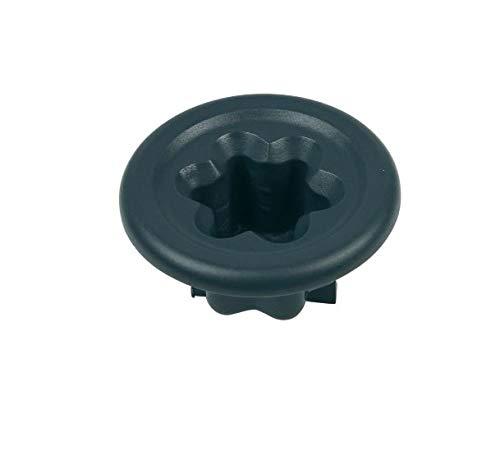 Kunststoffkupplung für Vorwerk Thermomix® TM31 Küchenmaschine Ø 46 mm schwarz
