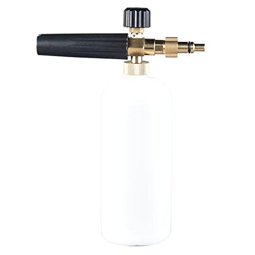 Pistola de espuma de alta presión para Lavor / Sterwins / Champion / Vax / Parkside / Foreman / Hitachi Snow Foam Lance Lavadora de espuma profesional para coche (PMQ-LA)