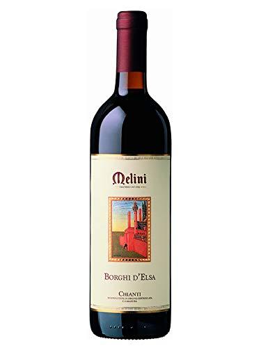 "BORGHI D""ELSA Chianti DOCG - Melini - Vino rosso fermo 2017 - Bottiglia 750 ml"