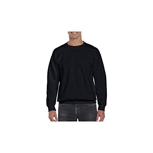Sweatshirt Gildan pour homme (L) (Noir) 7e0ef12e40b0
