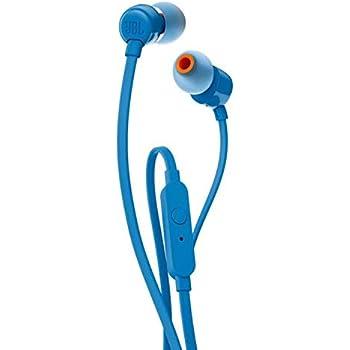 da5819578ee JBL T160 in-Ear Headphones with Mic (Blue): Buy JBL T160 in-Ear ...