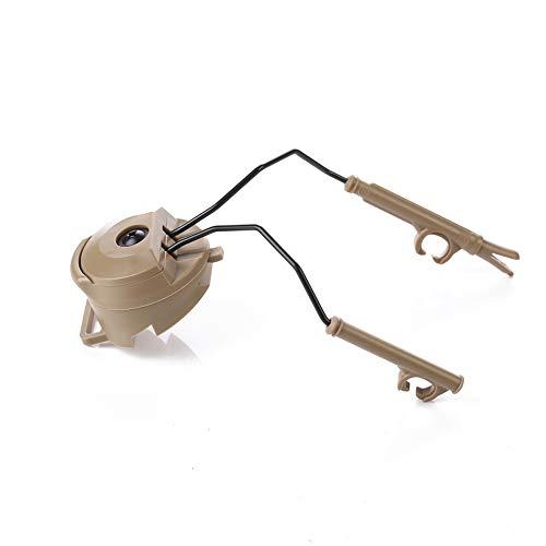 Gehörschutz/Taktisches Headset für Luftfahrt, Kopfhörer und Helm-Adapter, passend zu Allen Helmen, ACH-Helm, Mich-Helm